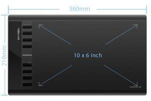 XP pen star O3 tablette graphique