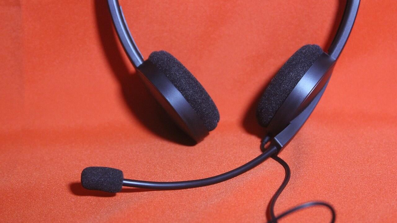 Tr/ès Confortable Casques PC Filaire pour Ordinateur Business Skype Softphone Centre dappels Bureau Cours en Ligne Conversation Claire Casque USB avec Micro Anti-bruit et Contr/ôle en Ligne
