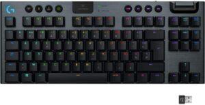 clavier gamer Lightspeed G915 TKL noir
