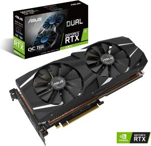 Carte graphique ASUS GeForce RTX 2080 Ti DUAL-RTX2080TI-O11G