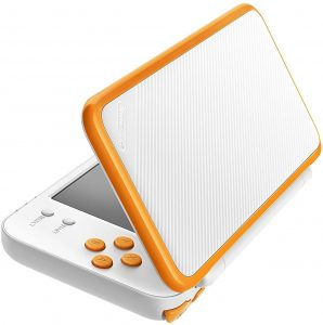 Nintendo 2DS XL Blanc et Orange