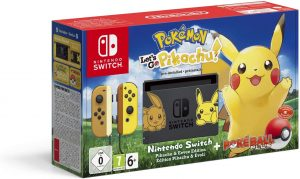 Nintendo Switch Pikachu & Evoli