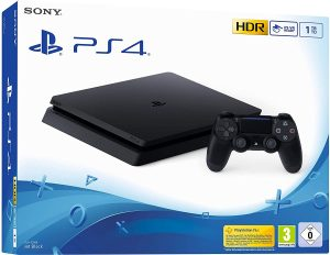 PS4 slim 1 To Noire