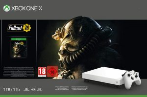 X box one X Fallout 76