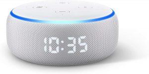 Réveil connecté Echo Dot