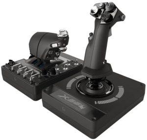 simulateur de vol Logitech G X56 Hotas