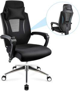 chaise de bureau tournante sur roulettes