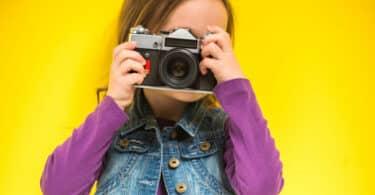 A quel âge offrir un appareil photo à un enfant