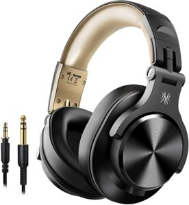 casque bluetooth A70 OneOdio Or