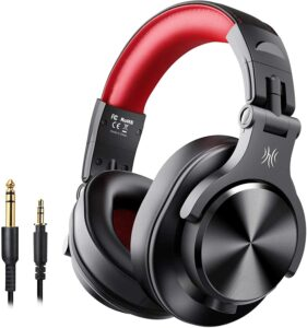 casque bluetooth A70 OneOdio Rouge