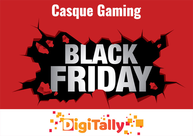 Black Friday casque gaming 2021 : Jusqu'à 90% de réduction